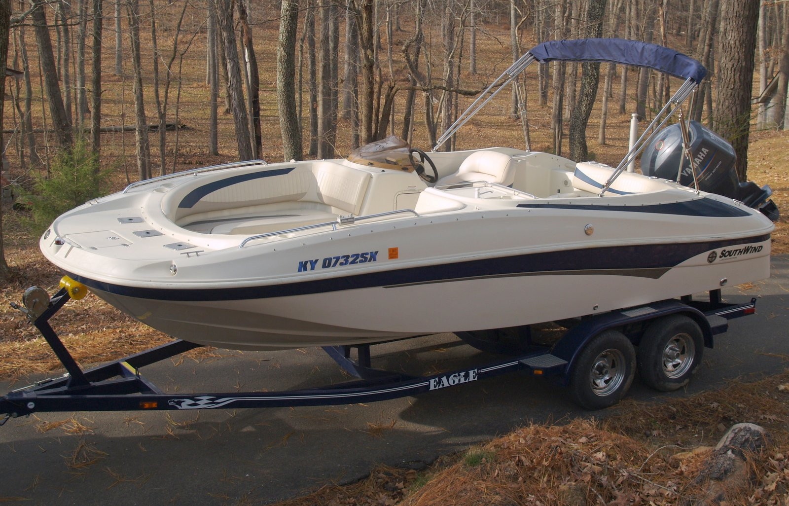 21 ft southwind deluxe fish and ski boat kentucky lake for Best fish and ski boats 2017